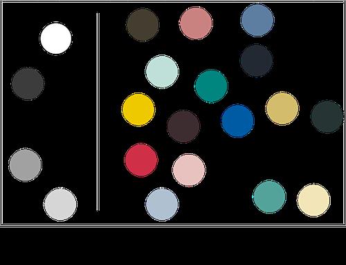 色の三属性02 有彩色と無彩色