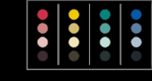 色の三属性05 彩度